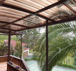 Fixed Frame Polycarbonate Canopy