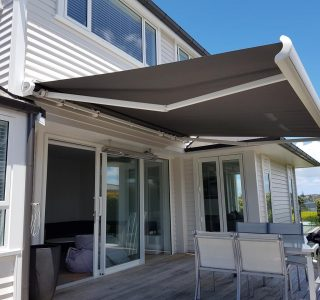 Folding-Arm Awnings