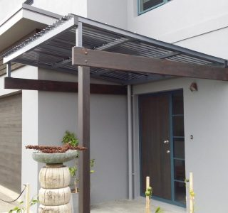 FFC Polycarbonate Residential 12 320x300 - Fixed Frame PVC Canopies (Tensioned Membrane Structure)