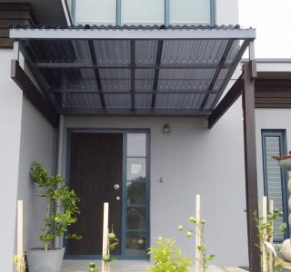 FFC Polycarbonate Residential 13 320x300 - Fixed Frame PVC Canopies (Tensioned Membrane Structure)