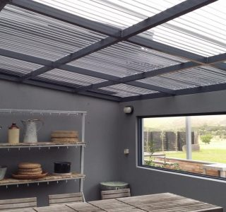 FFC Polycarbonate Residential 15 320x300 - Fixed Frame PVC Canopies (Tensioned Membrane Structure)