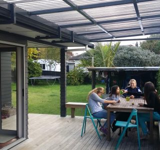 FFC Polycarbonate Residential 18 320x300 - Fixed Frame PVC Canopies (Tensioned Membrane Structure)