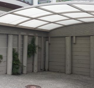 Polycarbonate Fixed Frame Canopy - Residential 2