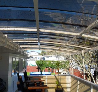 FFC Polycarbonate Residential 24 320x300 - Fixed Frame PVC Canopies (Tensioned Membrane Structure)