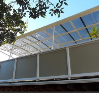 FFC Polycarbonate Residential 25 320x300 - Fixed Frame PVC Canopies (Tensioned Membrane Structure)