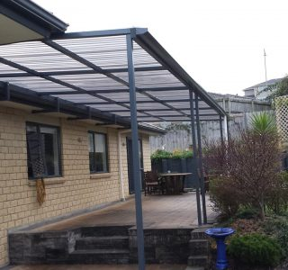 FFC Polycarbonate Residential 34 320x300 - Fixed Frame PVC Canopies (Tensioned Membrane Structure)