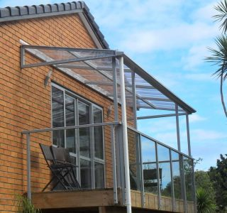 FFC Polycarbonate Residential 4 320x300 - Fixed Frame PVC Canopies (Tensioned Membrane Structure)