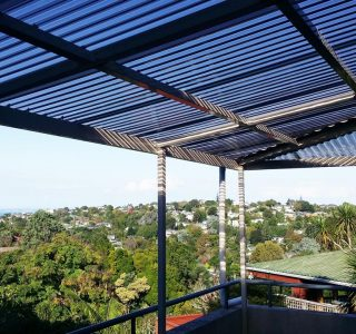 FFC Polycarbonate Residential 41 320x300 - Fixed Frame PVC Canopies (Tensioned Membrane Structure)
