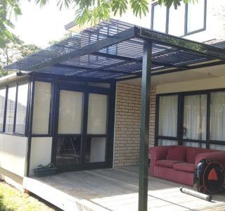 FFC Polycarbonate Residential 42 320x300 - Fixed Frame PVC Canopies (Tensioned Membrane Structure)
