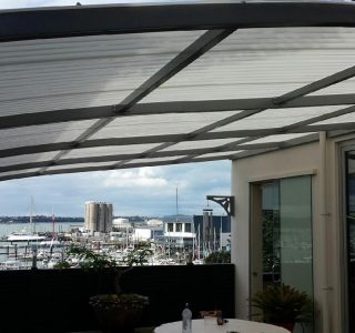 FFC Polycarbonate Residential 43 320x300 - Fixed Frame PVC Canopies (Tensioned Membrane Structure)