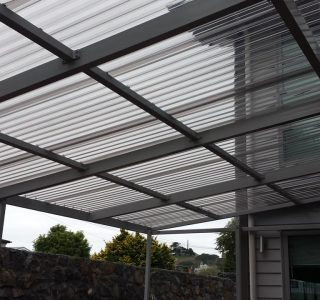 FFC Polycarbonate Residential 47 320x300 - Fixed Frame PVC Canopies (Tensioned Membrane Structure)