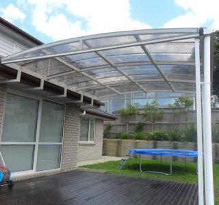 FFC Polycarbonate Residential 50 320x300 - Fixed Frame PVC Canopies (Tensioned Membrane Structure)