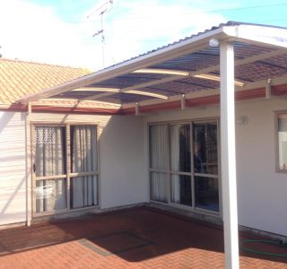 FFC Polycarbonate Residential 52 320x300 - Fixed Frame PVC Canopies (Tensioned Membrane Structure)