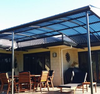 FFC Polycarbonate Residential 63 320x300 - Fixed Frame PVC Canopies (Tensioned Membrane Structure)