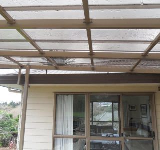FFC Polycarbonate Residential 66 320x300 - Fixed Frame PVC Canopies (Tensioned Membrane Structure)