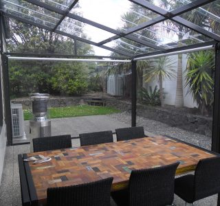FFC Polycarbonate Residential 70 320x300 - Fixed Frame PVC Canopies (Tensioned Membrane Structure)