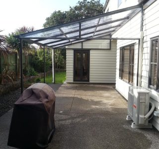 FFC Polycarbonate Residential 71 320x300 - Fixed Frame PVC Canopies (Tensioned Membrane Structure)