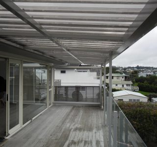 FFC Polycarbonate Residential 77 320x300 - Fixed Frame PVC Canopies (Tensioned Membrane Structure)