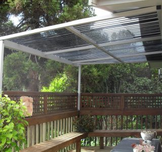 FFC Polycarbonate Residential 8 320x300 - Fixed Frame PVC Canopies (Tensioned Membrane Structure)