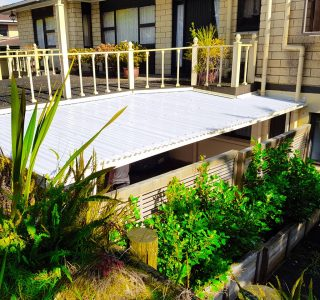 Fixed Frame Canopy - Custom solution - Residential Auckland