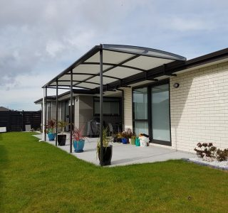 Fixed Frame Canopy Residential 4 320x300 - Fixed Frame Polycarbonate Canopies