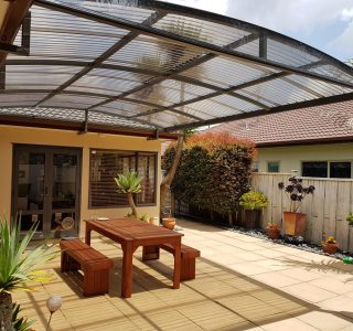 Hamed Fixed Frame Canopy Corrugated Bronze roof 1 320x300 - Home