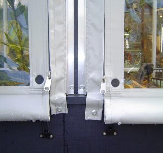 Hand Rolled Screens clear PVC Residential 29 320x300 - Crank Screens / Roller Blinds / Outdoor Curtains
