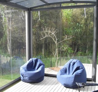 Hand Rolled Screens clear PVC Residential 46 320x300 - Fixed Panel Screens / Wind Break