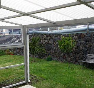 Hand Rolled Screens clear PVC Residential 52 320x300 - Fixed Panel Screens / Wind Break