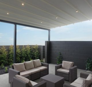 Omega Retractable Pergola Residential 2 320x300 - Retractable Pergola Roofs