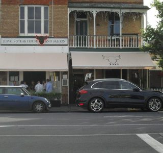 Retractable Awning Classic Jervois steak house Restaurant 320x300 - The 'Santana' Classic