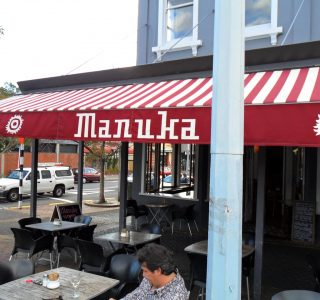 Retractable Awning Classic Manuka Cafe Commercial 320x300 - The 'Santana' Classic