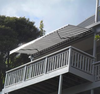 Retractable Awning Classic under soffit 3 320x300 - The 'Santana' Classic