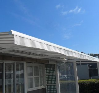 Retractable Awning Classic under soffit 64 320x300 - The 'Santana' Classic