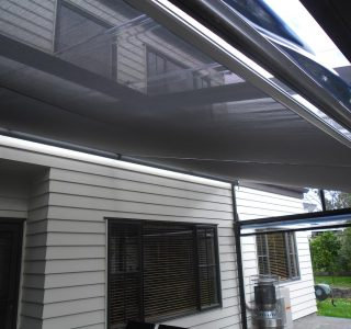 Retractable Shade Sail Residential