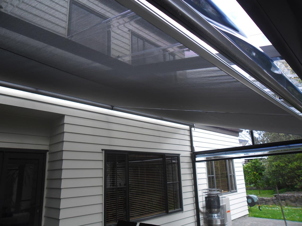 Retractable Shade Sail Residential 2 - Residential Gallery