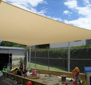 Shade Sail Commercial Freburg pre school 320x300 - Ready-Made Shade Sails