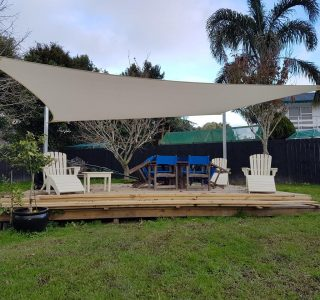 Shade Sail Residential 15 320x300 - Ready-Made Shade Sails