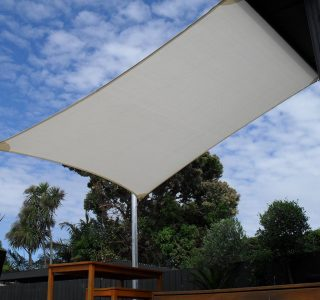 Shade Sail Residential 27 320x300 - Ready-Made Shade Sails