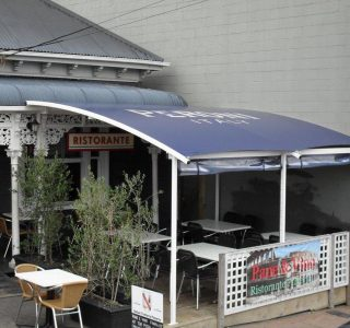 Commercial patio shade