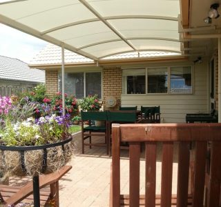 TMS Residential 11 320x300 - Fixed Frame PVC Canopies (Tensioned Membrane Structure)