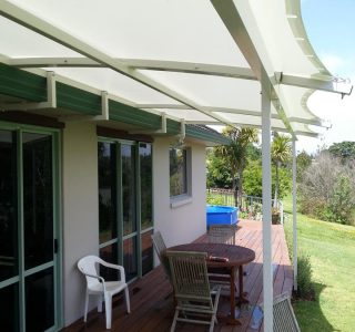 TMS Residential 13 320x300 - Fixed Frame PVC Canopies (Tensioned Membrane Structure)