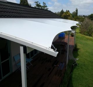 TMS Residential 14 320x300 - Fixed Frame PVC Canopies (Tensioned Membrane Structure)