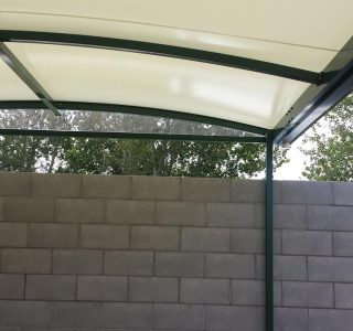 TMS Residential 19 320x300 - Fixed Frame PVC Canopies (Tensioned Membrane Structure)