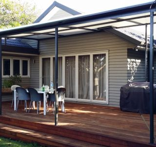 TMS Residential 2 320x300 - Fixed Frame PVC Canopies (Tensioned Membrane Structure)