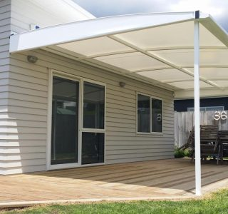 TMS Residential 25 320x300 - Fixed Frame PVC Canopies (Tensioned Membrane Structure)