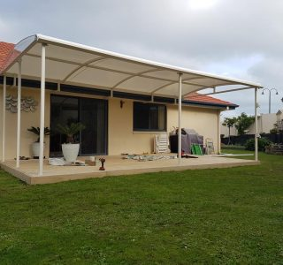 TMS Residential 30 320x300 - Fixed Frame PVC Canopies (Tensioned Membrane Structure)