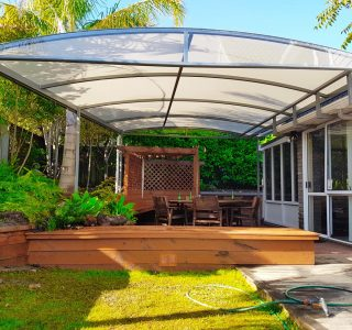 TMS Residential 320x300 - Fixed Frame PVC Canopies (Tensioned Membrane Structure)