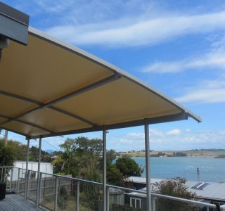 TMS Residential 4 320x300 - Fixed Frame PVC Canopies (Tensioned Membrane Structure)