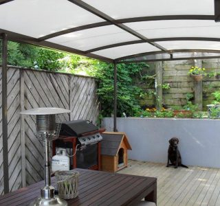 TMS Residential 40 320x300 - Fixed Frame PVC Canopies (Tensioned Membrane Structure)